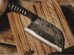 Carbon Steel Chef Cleaver